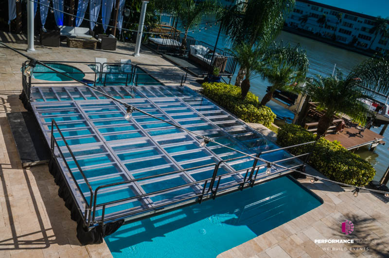 Premium Event Pool Covers by Waltz on Water