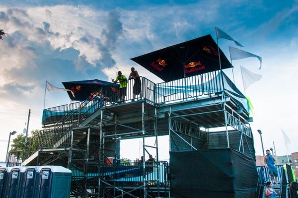 Double-decker VIP Party Platform