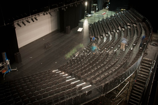 Curved Audience Riser for 550