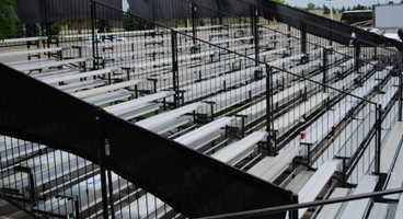 Large Capacity Bleachers from PM1