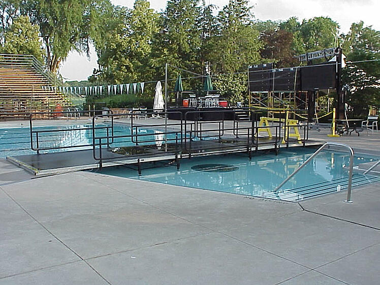 Swimming Pool Stage