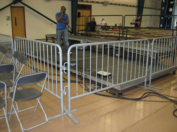 Event Crowd Control Bike Rack Barricade Rental