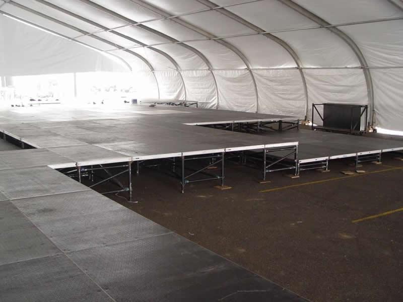 Huge tent floor rental