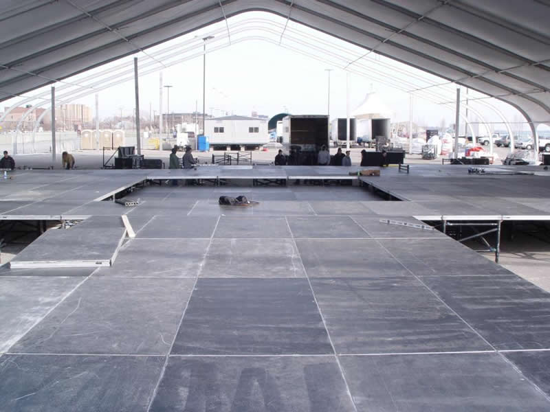 Huge tent floor rental