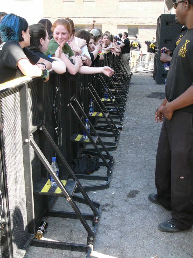 Crowd Control Barricade Rental