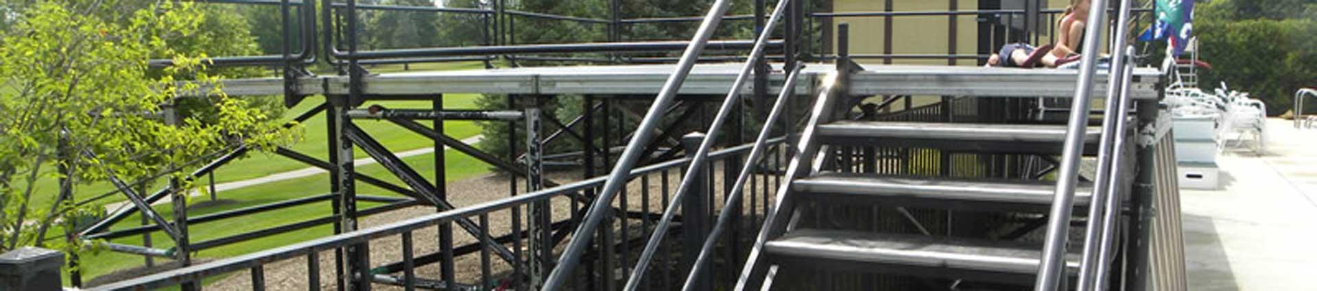 Stair rental sample