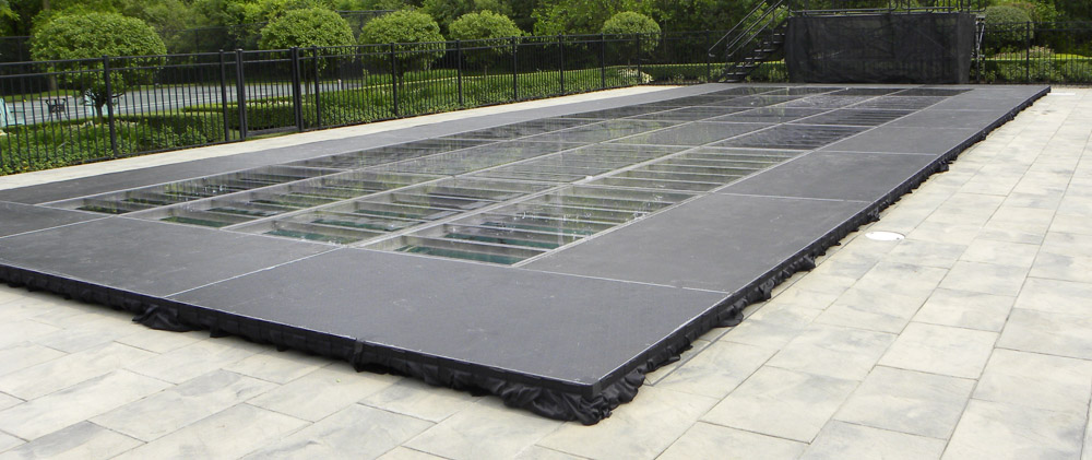 Clear Pool Cover Rental