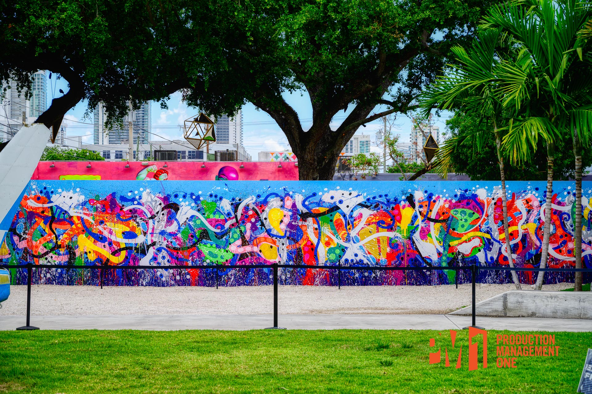 Artist: JonOne; Location: Wynwood Walls, Miami