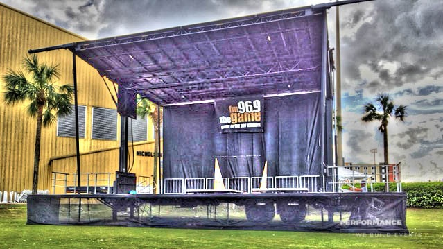 Mobile Stage Rental