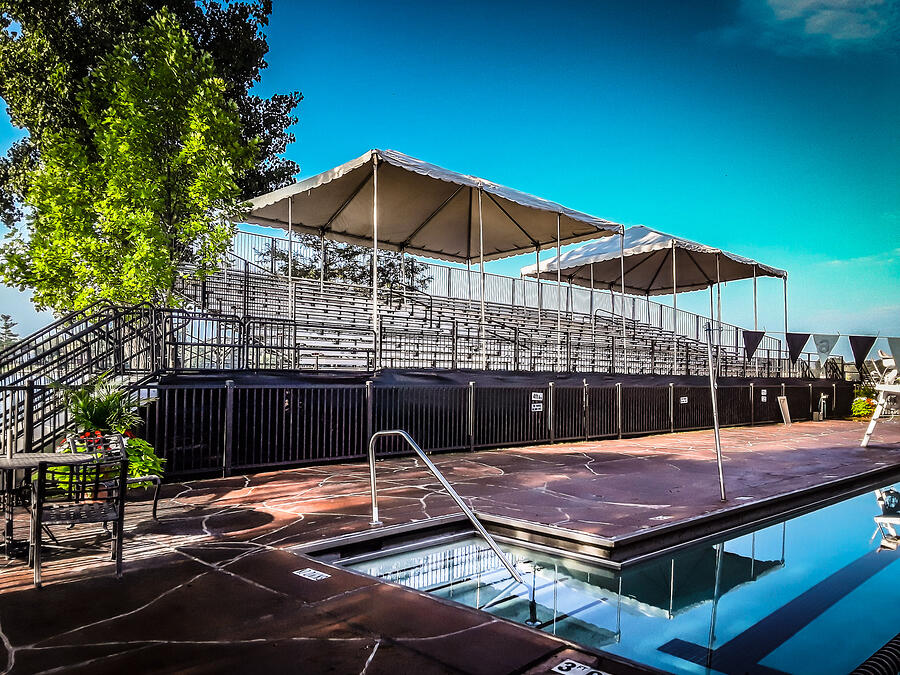 Pine Lake Bleacher Seating Rental