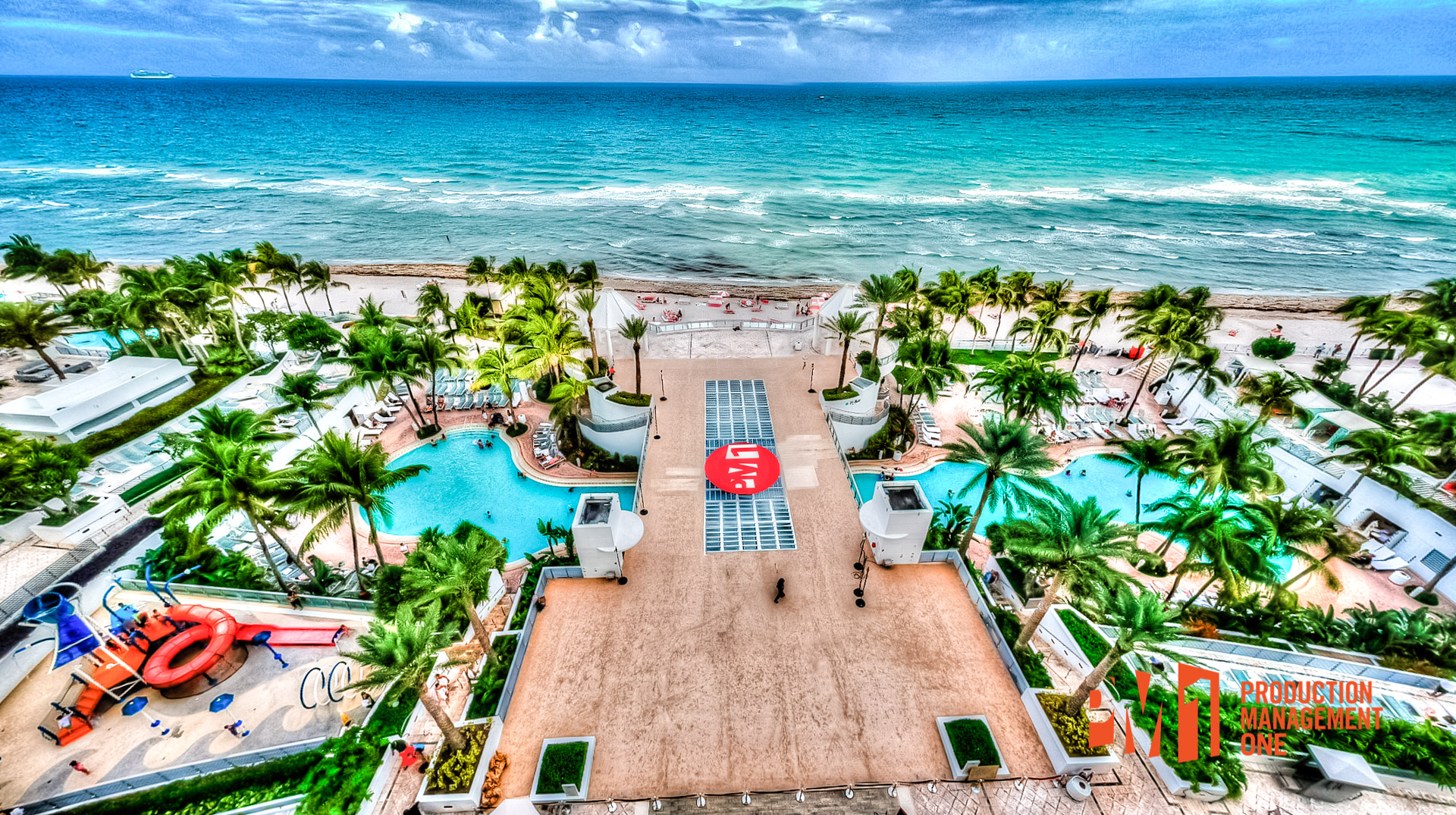 Trade Show Pool Cover in Fort Lauderdale, Florida