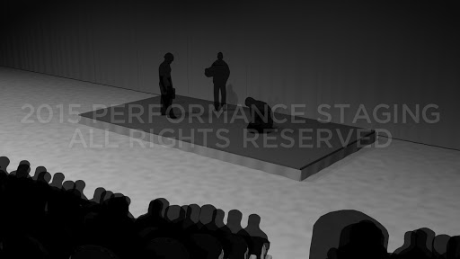 Audience Riser Rental Sample Rendering