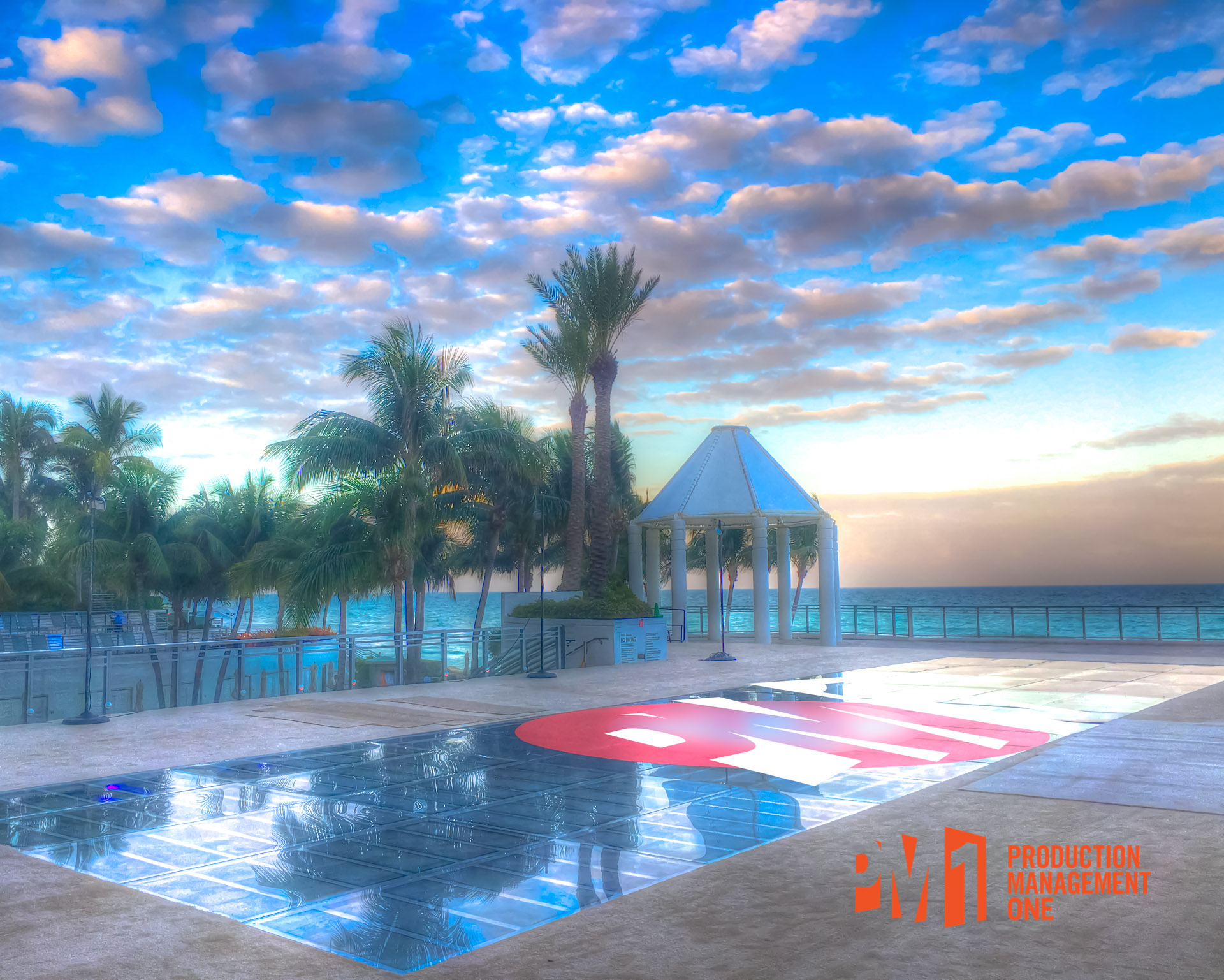 Fort Lauderdale Trade Show Pool Cover